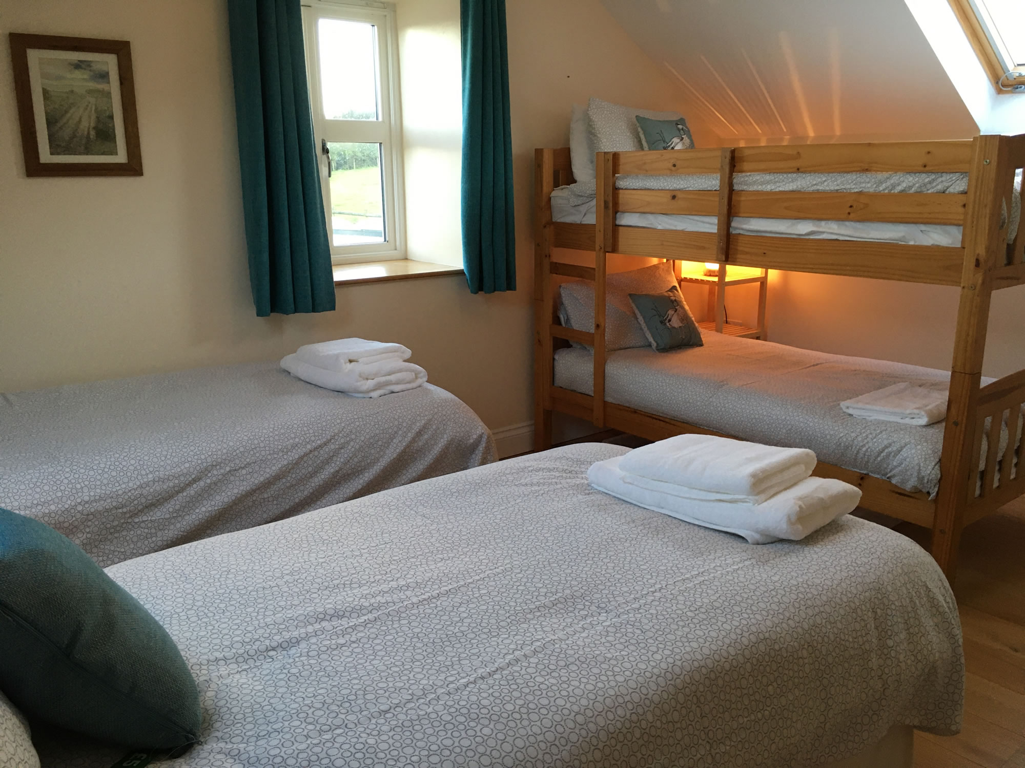 Hardingsdown Bunkhouse and The Chaffhouse. The perfect base for all holidays in the Gower Peninsula.